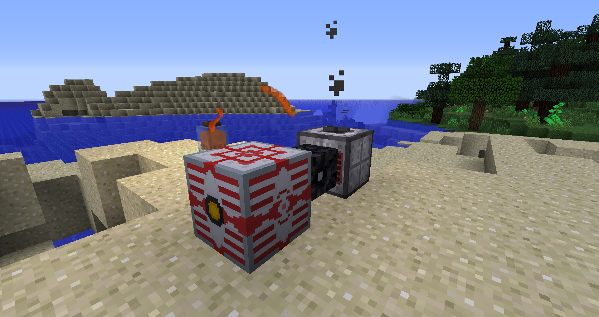This is how I have the generator set up.